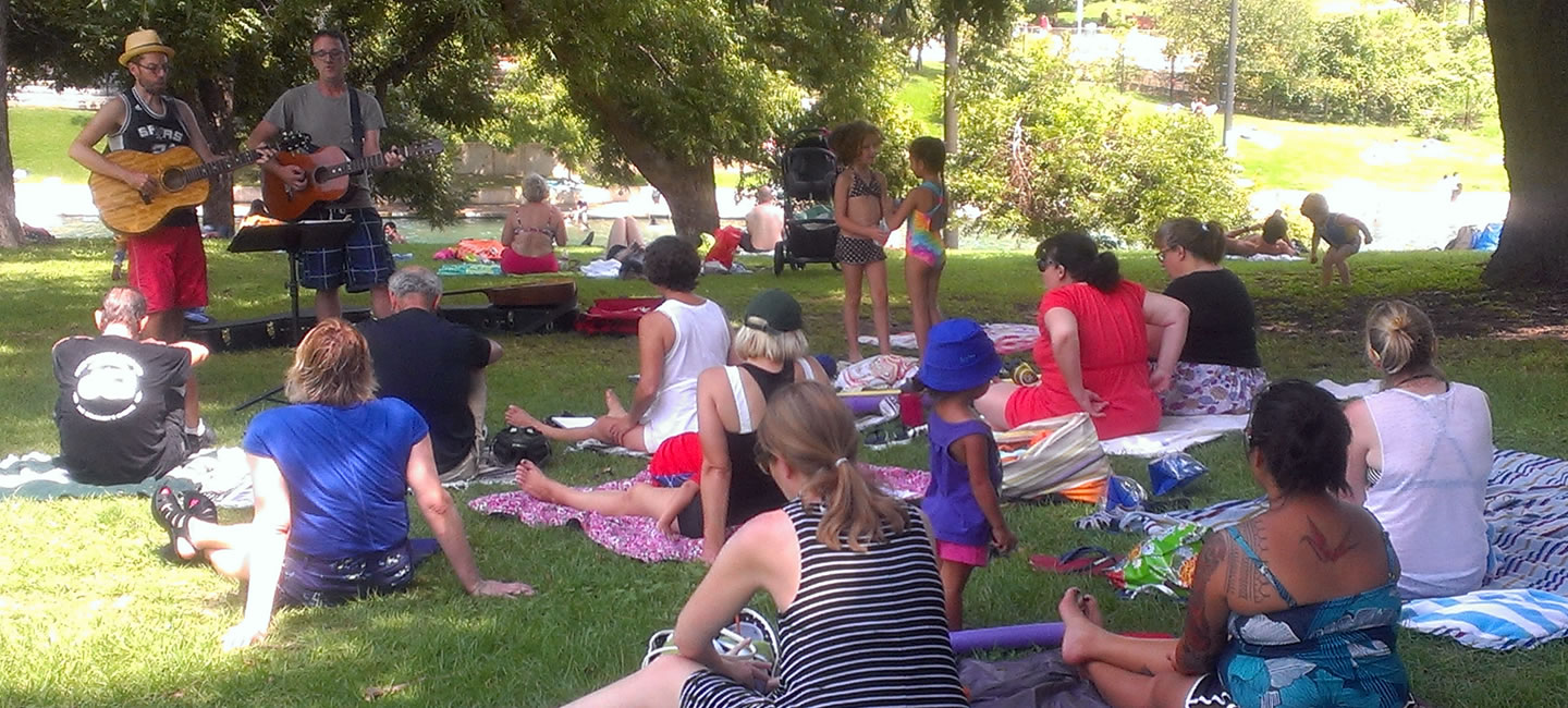 Sept. 2016 Singalong at Barton Springs