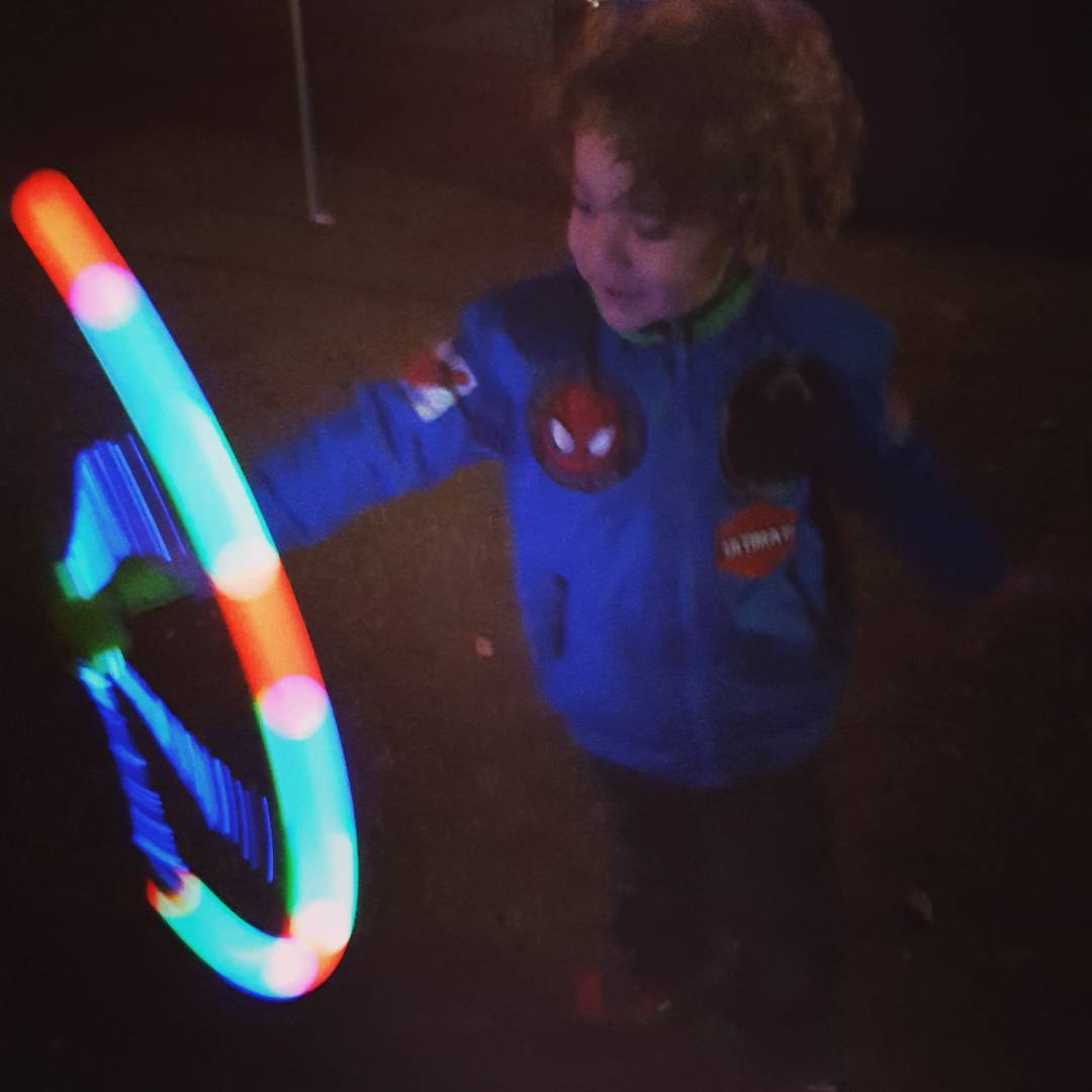 Light spinner #trailoflights